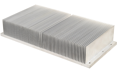 FSW Machined Large Section Heat Sink